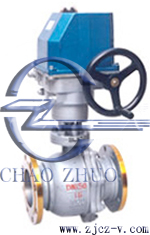 ZDRR電子式調節球閥