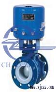Q941F4电子式衬氟球阀