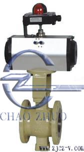 ZSSV氣動V型切斷球閥