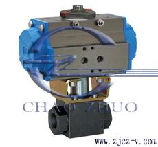 Q611F高压气动内螺纹球阀