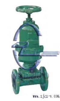 常闭式气动衬胶隔膜阀G6B41J