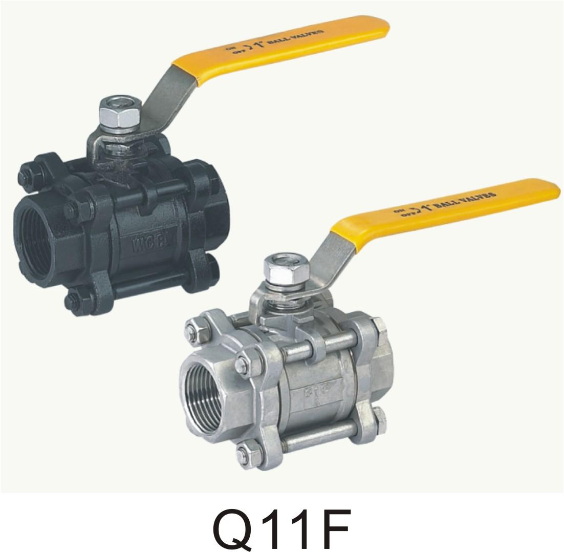 Q11F  球阀  三片式球阀