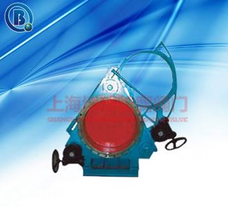 蝸輪傳動扇形盲板閥