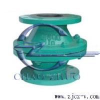 H40J浮球式襯膠止回閥