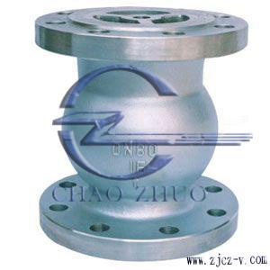 H42W不锈钢法兰立式止回阀