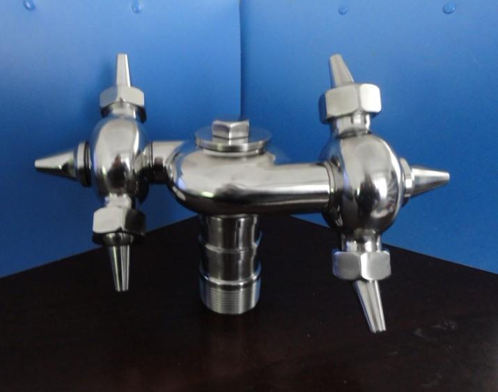 不锈钢双循环牛角洗罐器(厂家直销)