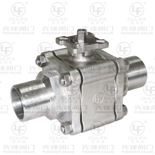 3PC高平台对焊球阀-PQ61F(PPL)