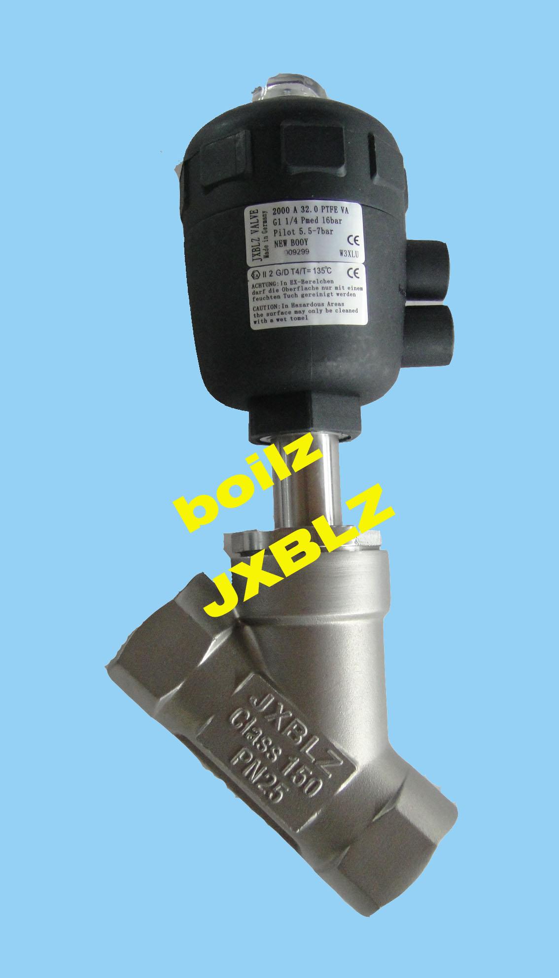 气动角阀-气动角阀报价-气动角阀厂家图片