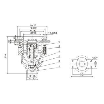 A69Y-10型高压冲量安全阀( W)