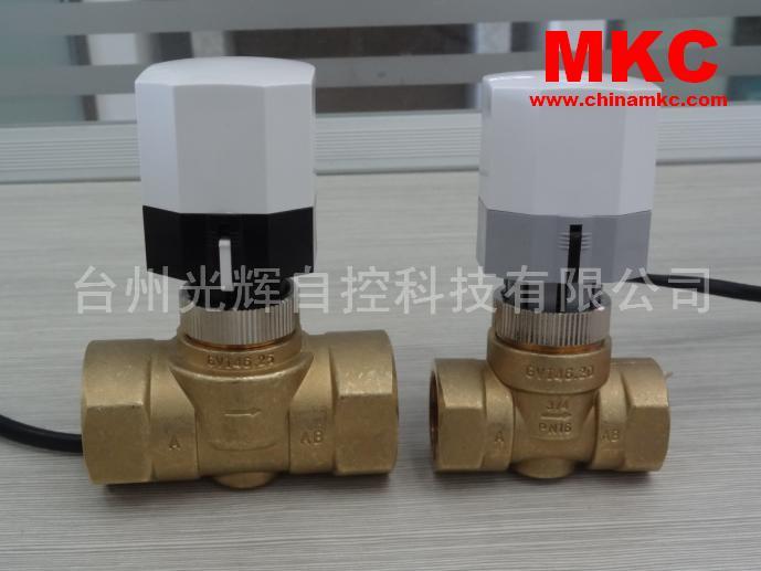 常闭型&常开型 电热执行器阀,电热截止阀,GVI 21二通系列,MKC