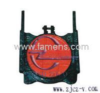 ZMQY型鑲銅鑄鐵圓閘門