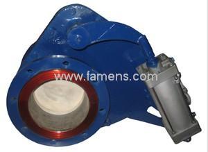 BZ644TC陶瓷摆动式进料阀