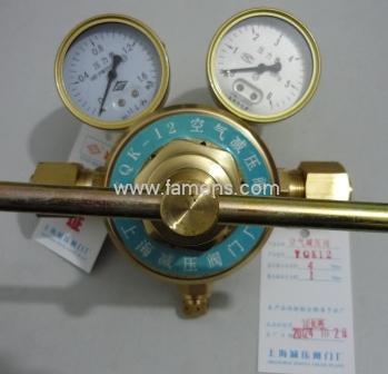 上海繁瑞YQK12空氣減壓閥YQK-12空氣壓力表