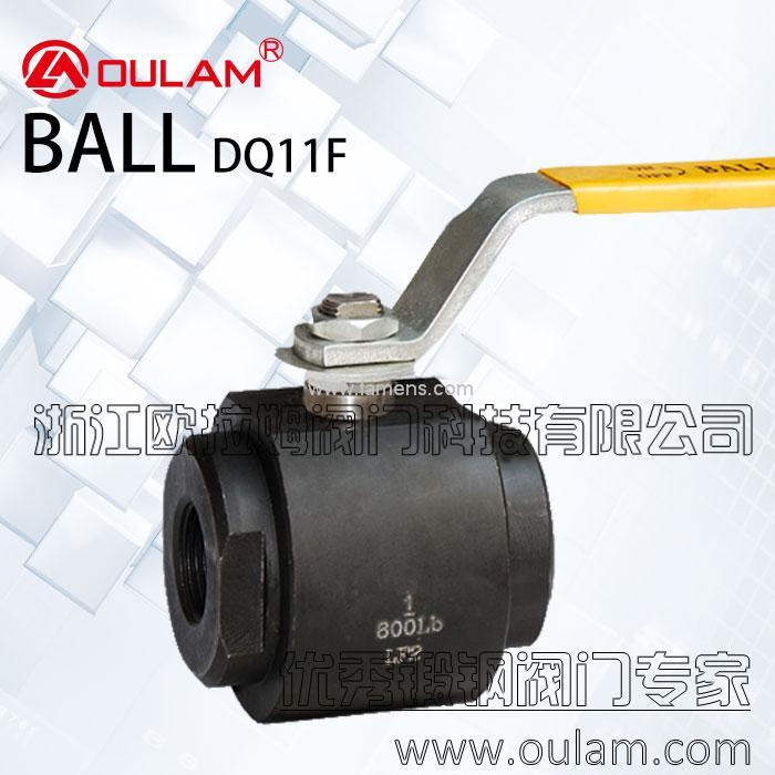 内螺纹锻钢球阀/低温锻钢球阀DQ11F型