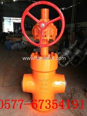 KZ63Y-160高压抗硫焊接闸阀