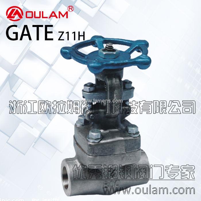 锻钢闸阀/内螺纹锻钢闸阀Z11H型