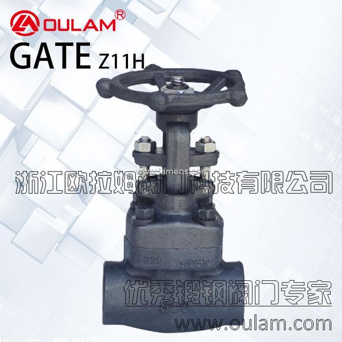 内螺纹锻钢闸阀/A105N锻钢闸阀Z11H型