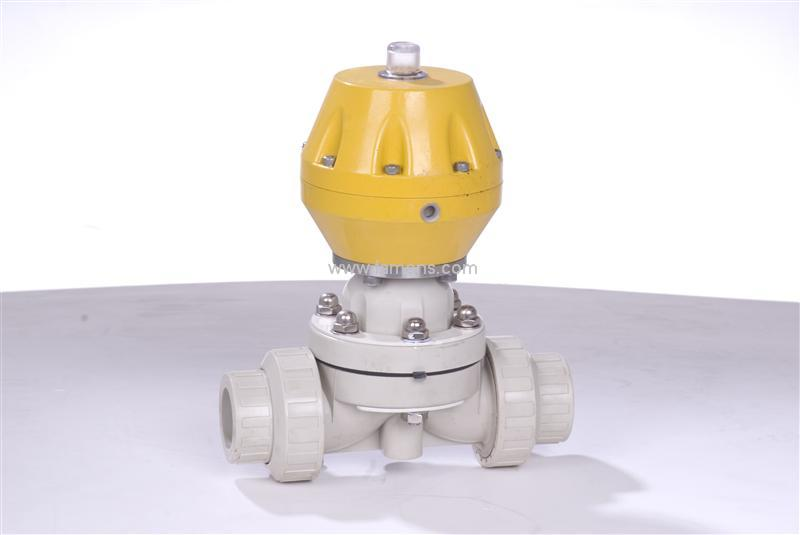 pph气动隔膜阀,双油令,厂家,耐腐蚀