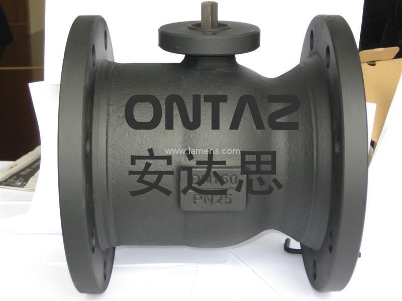 供应ONTAZ安达思灰铸铁球阀OZVQF