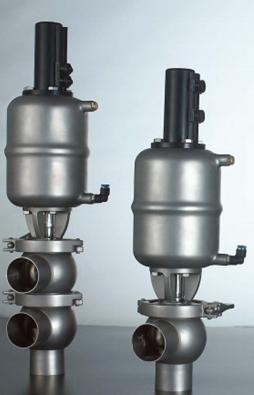 DA系列卫生级气动球型换向阀