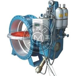HD7X41X 型 PN6~PN16 蓄能器式液控緩閉止回蝶閥