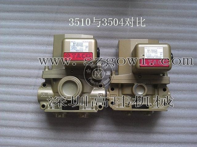 原裝正品日本TACO氣動沖床雙聯電磁閥MVS-3504/3510/3512/3514YCG