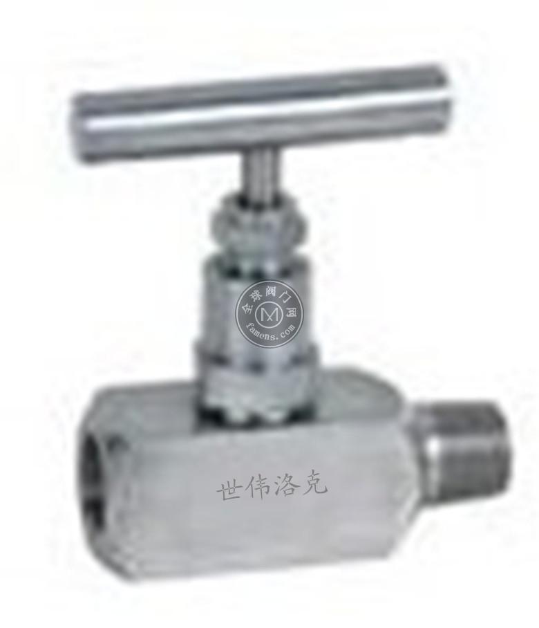 J21W-HB內外絲針形截止閥,不銹鋼針形截止閥,世偉洛克swagelok針型閥,J21W不銹鋼針型閥