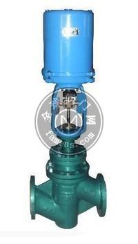 ZAZF46-16C电动衬氟调节阀  电动调节阀厂家