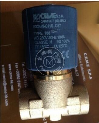 ceme电磁阀常开直流电磁阀 8615VV020S BDF
