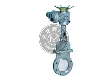 精品电动刀型排渣阀浆液阀Z943H-10C DN80 DN65 DN100 DN125 DN150 DN200 DN250 DN300 DN50 DN350 DN400 DN4