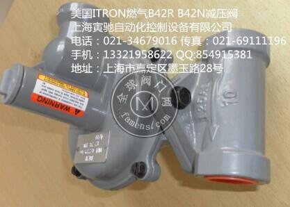 美國ITRON燃氣減壓閥B42R B42N