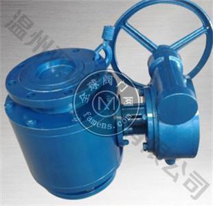 涡轮传动陶瓷球阀