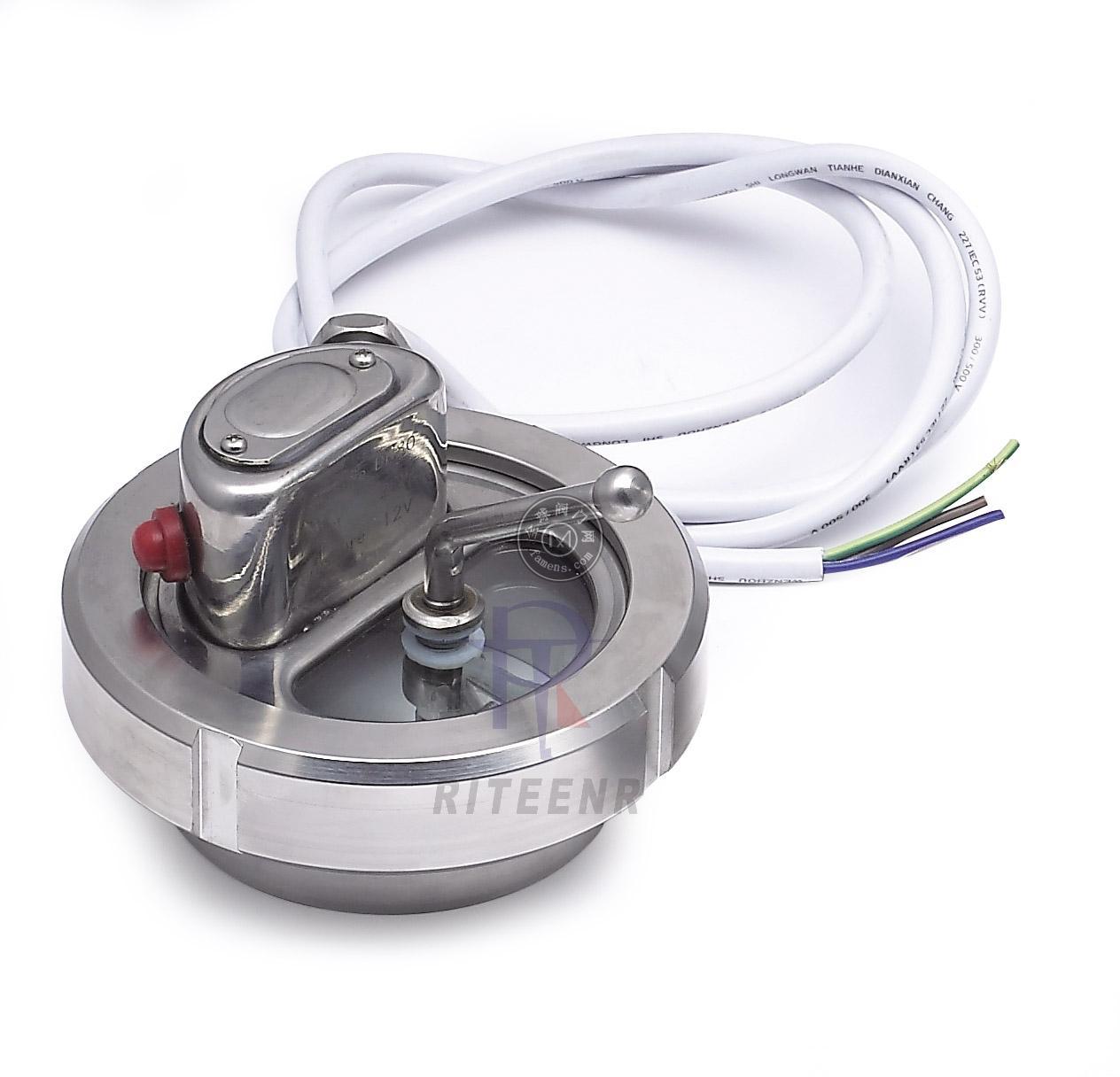 衛生級罐頂帶燈視鏡