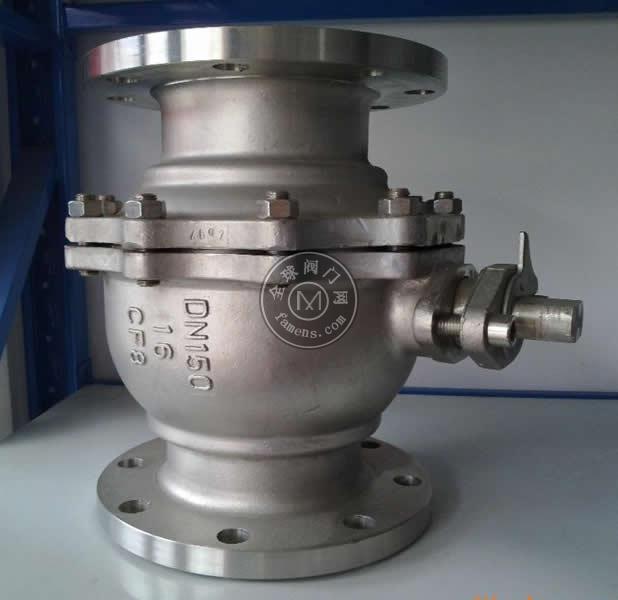中誠Q41F不銹鋼球閥,法蘭球閥