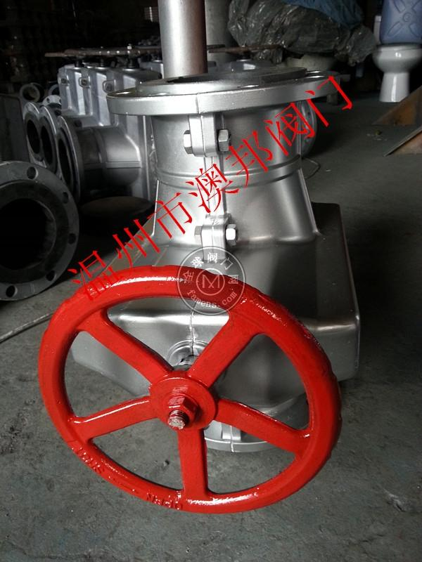 廠家直銷GJ641X-氣動管夾閥--國標鋁合金管夾閥--溫州澳邦