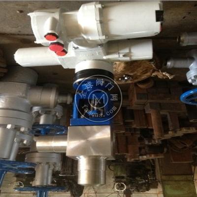 BJ967Y高压电动角式截止阀