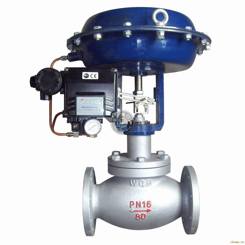中誠ZMABN氣動薄膜雙座調節閥,氣動薄膜調節閥廠家,氣動薄膜調節閥價格