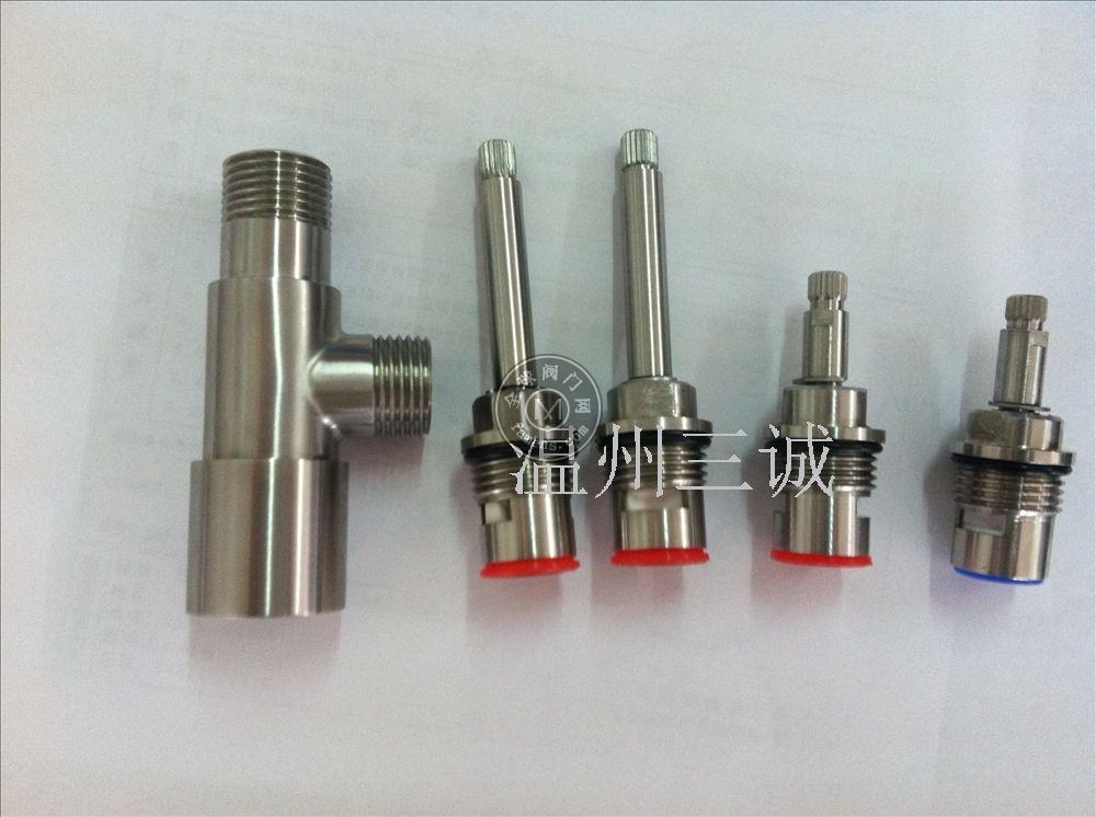 温州304不锈钢阀芯陶瓷阀芯厂家定做水龙头阀芯