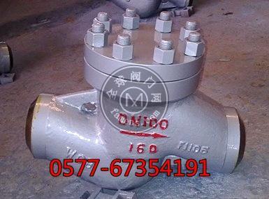 H61Y高压直通式焊接止回阀