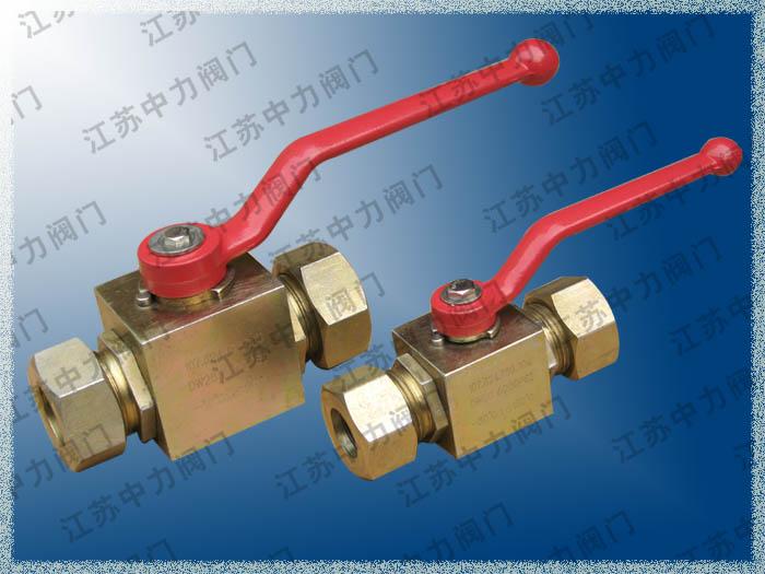 CNG天然气高压卡套球阀