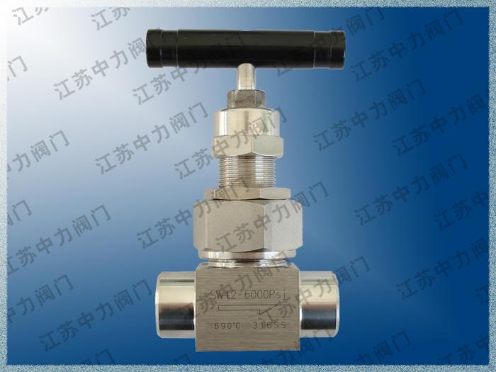 不銹鋼仿進口高壓焊接針閥