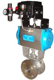 PSRVQ640W气动调节球阀