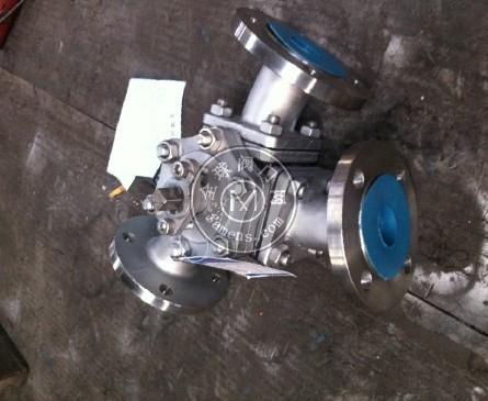 Q42F-Y型三通球閥