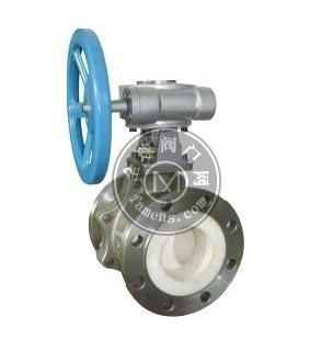 Q347TC耐磨陶瓷球閥