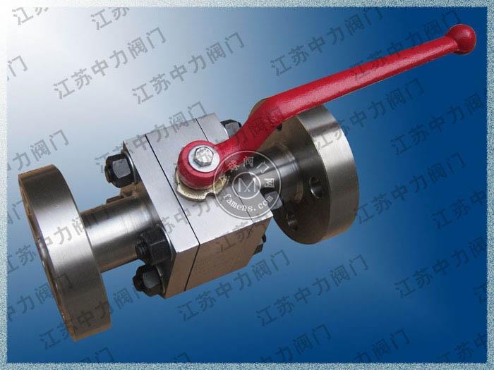 CNG不锈钢法兰式高压球阀