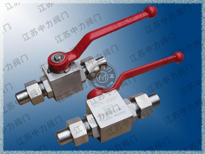 Q21N-320P焊接式高压球阀