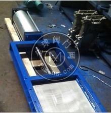 中誠LMS型焊接螺旋閘門,氣動螺旋插板閥,氣動插板閥