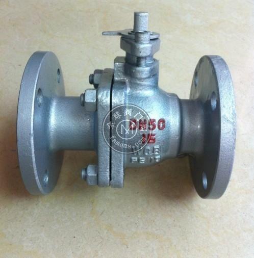 Q41F碳钢法兰球阀