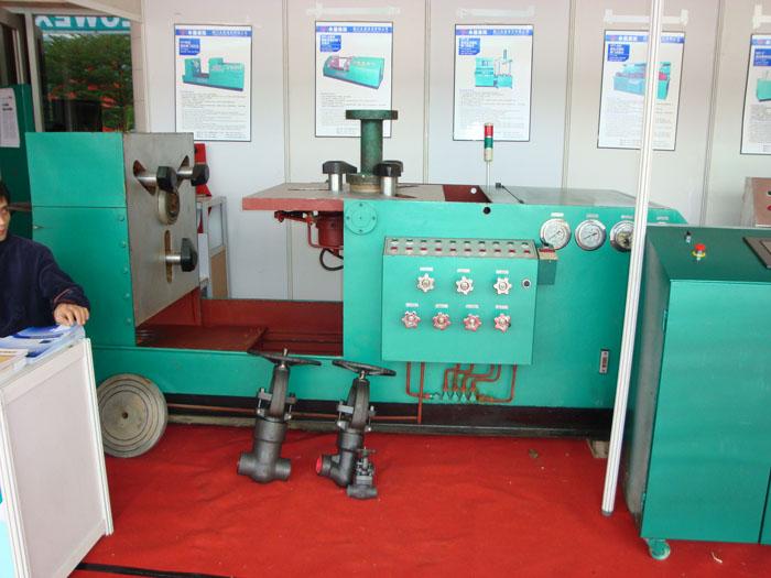 YFT型(雙翻)液壓閥門測試機