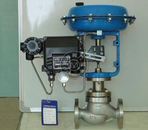 ZJHP型氣動單座調節閥